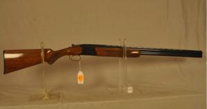Browning Citori, 20 ga. over/under shotgun.