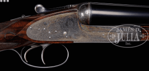 A 12 gauge Boss SXS with a quirk