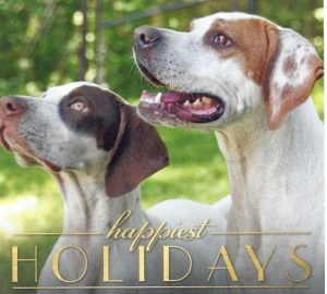 Happy Holidays & Merry Christmas from Dogs & Doubles.