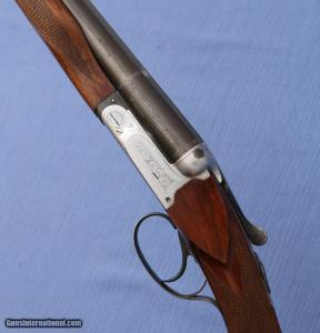 1960 - Beretta Model 409 - Silver Hawk SxS Shotgun