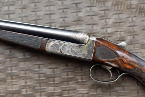 "20 gauge Westley Richards SxS Double Barrel Shotgun, 26"" barrels, Westley single trigger"
