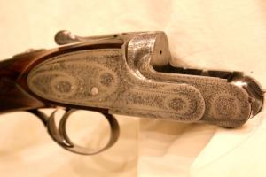 A&S Famars 28ga Jorema SLE Shotgun, 27 1/2 inch Single Trigger O/U