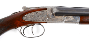 Cased L.C. Smith Ideal Grade 20 gauge SxS Sidelock Shotgun
