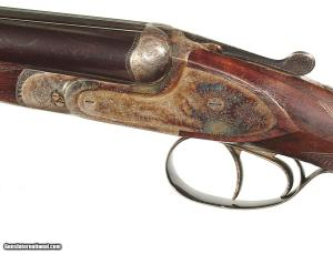 "FRANCOTTE MODEL ""20E"" DOUBLE 20 GAUGE SIDE-BY-SIDE SHOTGUN RETAILED BY ABERCROMBIE & FITCH"