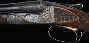 "VERY RARE (54 PRODUCED) HIGH ORIGINAL CONDITION SPECIAL ORDER FOX 20 GAUGE ""DE"" SHOTGUN WITH SINGLE TRIGGER."
