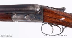 "Fox HE Super Fox 12 Gauge – 32"", 1 OF 950 MADE HIGH FACTORY CONDITION: Year 1927, 12Gauge, 9lbs 2oz, Side-by-Side, Serial Number: 31791."