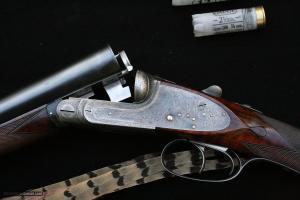 Stephen Grant & Sons 12 Gauge Sidelock Side-by-Side Double Barrel Shotgun: