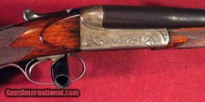 William Evans .400/.360 Boxlock Side-by-Side Double Rifle