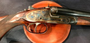 An awesome Purdey double rifle. in .246 flanged. Westley Richards had it.