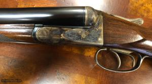 Near Mint A.H. Fox A-Grade 12ga Side-by-Side Double Barrel Shotgun