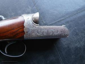 Westley Richards 20 bore  Hand Detachable (drop lock) Ejector, Side-by-Side Shotgun