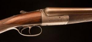 John Dickson & Son 12 gauge wonderful Round Action S/S Shotgun with original nitro proofed Damascus barrels