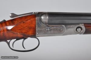 """Parker GHE Grade 2 16 Gauge Side-by-Side Shotgun, 28"""" Barrels Pistol Grip Stock Splinter Forearm"""