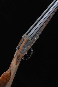 """THE PHOENIX GUN"" A MAGNIFICENT MALCOLM APPLEBY-ENGRAVED 12-BORE SELF-OPENING SIDELOCK EJECTOR GUN, NO. 7420"