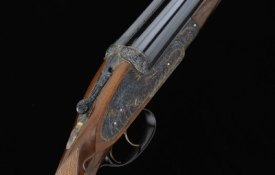 """""""THE PHOENIX GUN"""" A MAGNIFICENT MALCOLM APPLEBY-ENGRAVED 12-BORE SELF-OPENING SIDELOCK EJECTOR GUN, NO. 7420"""