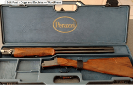 "Auction alert: Perazzi MX3 26"" 20g, OU, straight grip..."