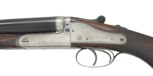 LOT 1003 - HOLLAND & HOLLAND DOMINION SXS RIFLE, 500 / 450 Express, coming up at Poulin Auctions on 10/20/18.