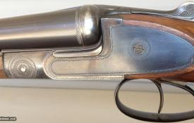 "Bargain bird gun: A St. Etienne ""Heliobloc"" 16Ga Boxlock Side-by-Side, 2 ½"" chambers, extractors"