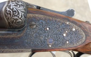 12 gauge James Purdey & Sons SxS shotgun with extra finish, 1920