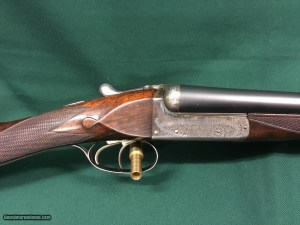 Webley and Scott 16 gauge SxS Boxlock Shotgun