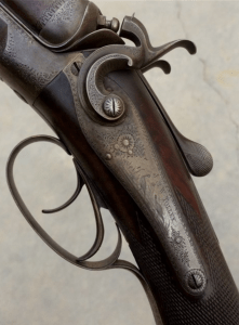 NO RESERVE, Excellent and Unique 12 gauge J&W Tolley English Hammergun