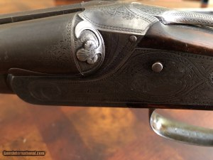 Fantastic and Extremely Rare Original Lefever BE Grade 16ga SxS Shotgun
