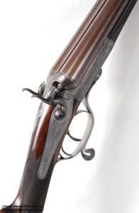 "STEPHEN GRANT Jones Rotary Underlever Hammer Gun 12 gauge, 30"" bbls"