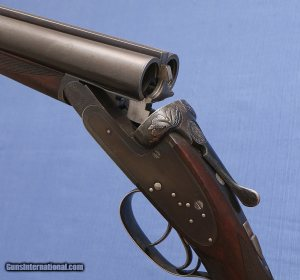 Emile Warnant - Liege Belgium - Excellent Quality - Sidelock Ejector SxS - 1925 Gun