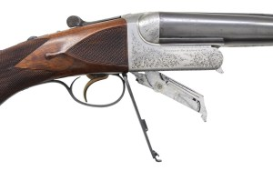Auction alert: Westley Richards .470 NE Droplock double rifle...