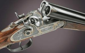 AYA ANNIVERSARY Sidelock SxS hammer shotgun