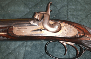 Extremely Rare Sir Joseph Whitworth .451 Percussion Double Rifle With Hexagonal Bore
