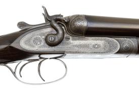 PURDEY BEST HAMMER PIGEON GUN SXS 12 GAUGE
