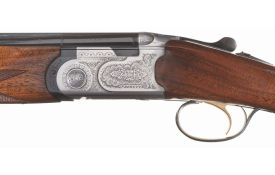 Lot #1875: 28g Beretta Model S686 Special Over/Under Shotgun with Case