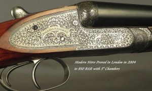 "HOLLAND & HOLLAND PARADOX 12 BORE- ROYAL SIDELOCK EJECT HAMMERLESS- 28"" EJECT Bbls.- NITRO PROVED in LONDON in 2004- VERY ACCURATE- ORIG. O&L CASE"