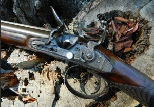 Joseph Manton SxS Flintolock 22-bore