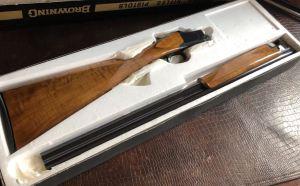 "Browning Superlight - 20ga - 1972 Man. Date - IC/M - 26.5"" - 14 1/4"" x 1 3/8"" x 2"" - 5 lbs 11 ozs - SN: 2871 V72 - In The Box!"