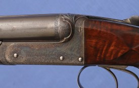 Army & Navy - Webley & Scott - Deluxe 450 BPE - High Condition - All Original 1896 Rifle !