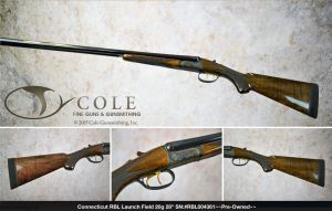 """Connecticut RBL Launch Field 20g 28"""" SN:#RBL004361, Pre-Owned"""
