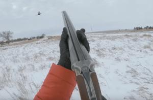 Watch this: Chasing Pheasants in Fresh Snow - South Dakota 2019