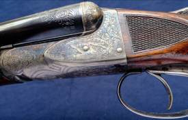 A.H. Fox CE 16 gauge SXS Philadelphia shotgun