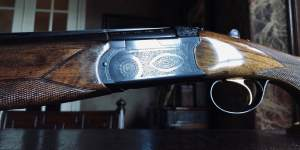 "Beretta BL4 (BL-4) - 28ga - 26 3/8"" Barrels - Like New - ca. 1970 - Sk/Sk Chokes - 14 1/4"" x 1 1/2"" x 2 1/2"" - 6 lbs - 99% Condition"