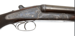 HOLLAND & HOLLAND ROYAL 10 BORE PARADOX DOUBLE RIFLE MADE FOR 1900 PARIS EXHIBITION