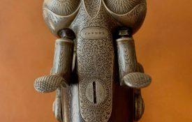 Incredible island-lock hammergun by James Purdey, London