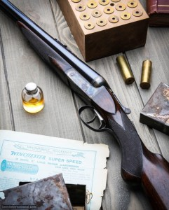 Westley Richards 12g and .500 BPE 562 Grade Cape Gun