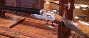 "Arrieta 2"" 12 Gauge Sidelock SxS Spanish Shotgun:"
