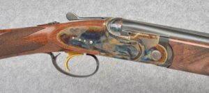 Connecticut Shotgun Mfg. ~ A-10 American ~ Sidelock Over Under ~ 20 Gauge