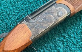 B. Rizzini 28ga Aurum Small Action Over Under Shotgun