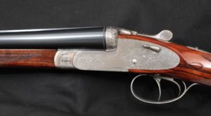 "Armas Garbi William Larkin Moore 101 Sidelock 28"" 16 GA SXS Shotgun, 1998:"
