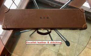 On Ebay now: Boss & Co, London, genuine leather shotgun case for 2-barrel set