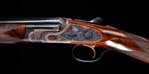 Superb Charles Boswell 410ga O/U Pinless sidelock - Truly a bespoke gun in every regard! Long barrels with superb dimensions